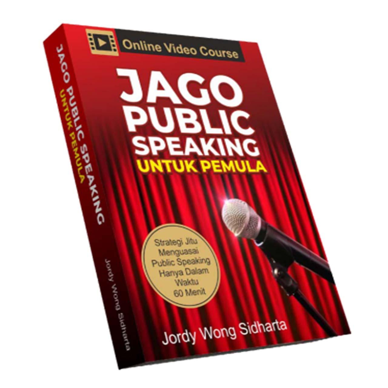 Online Course Jago Public Speaking untuk Pemula