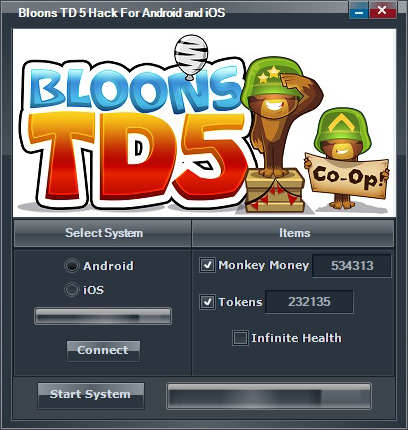 bloons tower defense 5 hack android