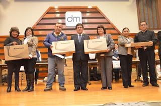 Entrega de Laptops 2016 a los ganadores de Lima y Callao