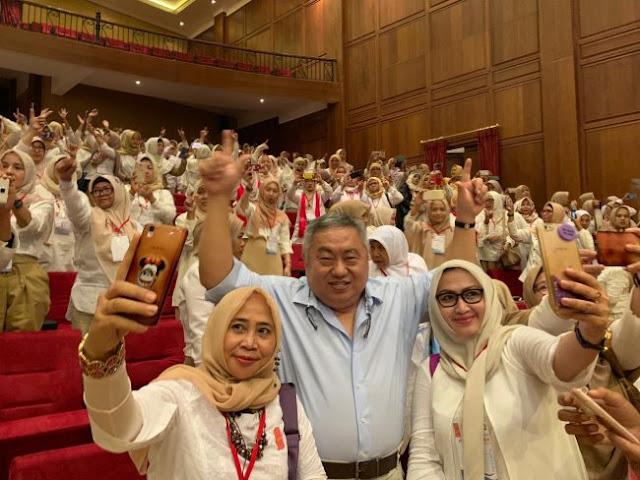 Lieus Sungkharisma: Pemilu 2019 Momentum Kebangkitan Emak-Emak Indonesia