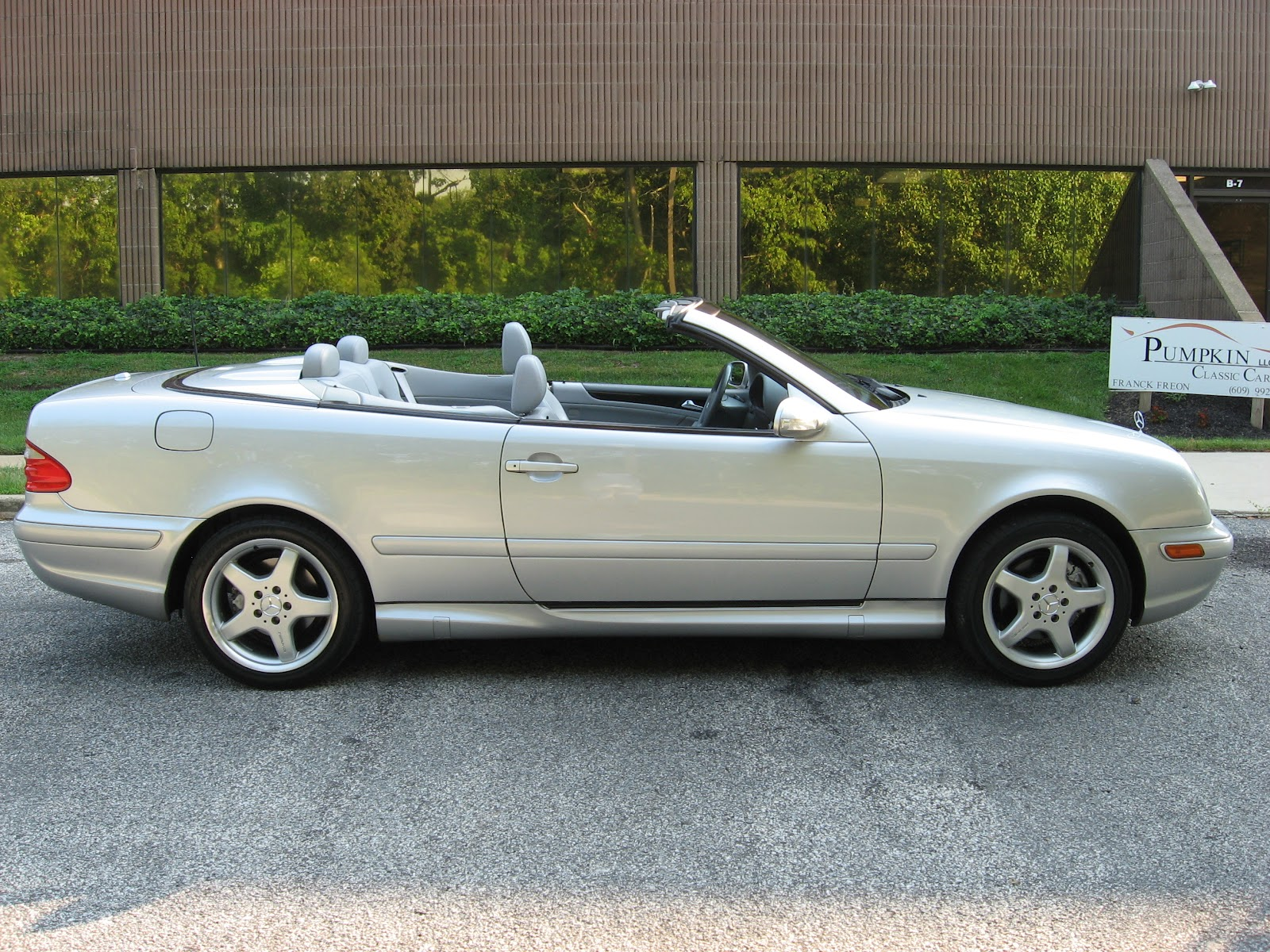 2002 Mercedes Benz Clk430 Cabriolet