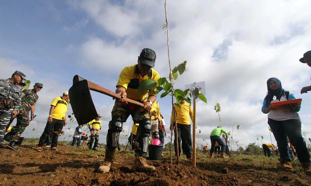 Peringatan Hari Bakti Rimbawan di Kalsel, Tanam 2.000 Pohon di Tahura Sultan Adam