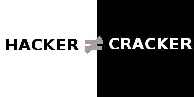 Hacker or Cracker differen