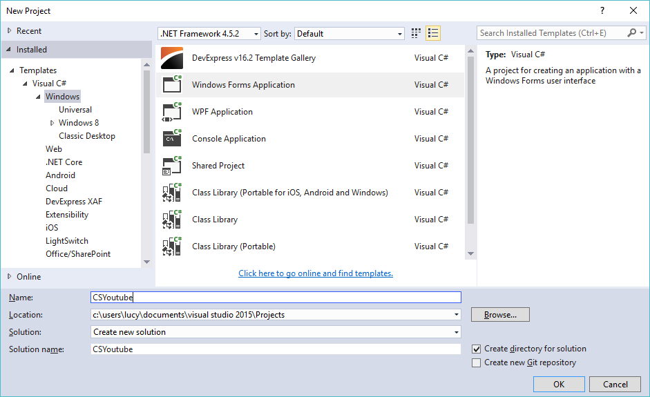 Foxlearn windows forms youtube downloader in c youtube download in c ccuart Images