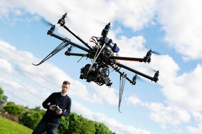 Drones por todos lados