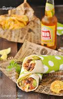 Burrito de buey con aguacate