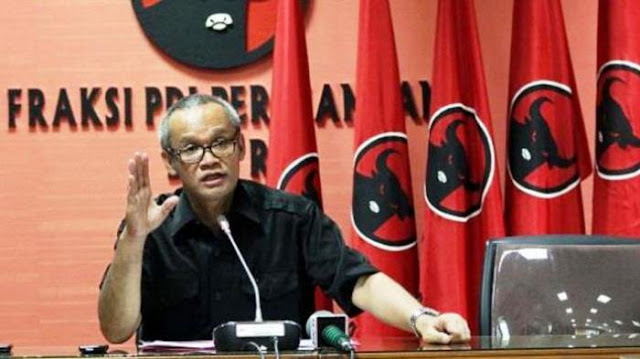Wah, Politisi PDIP Ini Bilang Enggak Ada Habib Rizieq Indonesia Teduh dan Damai
