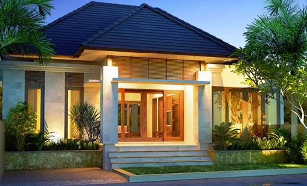 Terbaru 45 Desain Rumah Minimalis Bali Modern Motif Minimalis