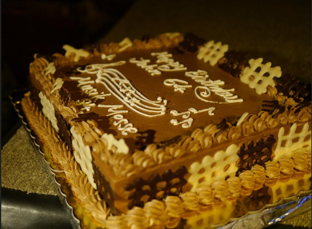 Birthday Cake Saxophone Jim