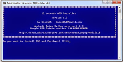Download ADB Instal Driver Setup 1.3