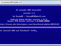 Download Android Debug Bridge (ADB) Setup Version 1.3