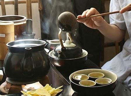 Nghệ thuật pha trà thái nguyên