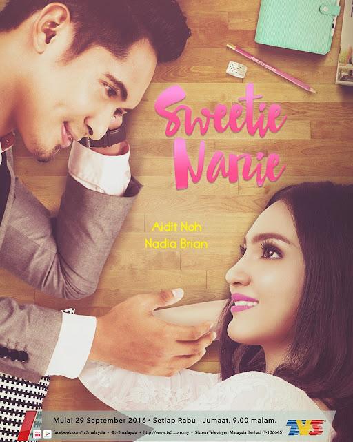 Biodata Pelakon Sweetie Nanie Aidit Noh