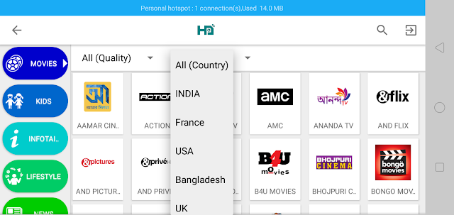 Free DishTv Channel on Mobile