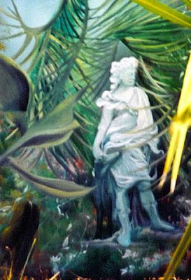 Oil on canvas, 12 x 14, painted on location, Silver Springs, 1997.  Private Collection, Kathryn Shaughnessy  Silver Springs Florida. Timeless Expression by Maguire