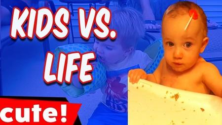 Kids Vs. Life | Funniest Kid Fails Compilation