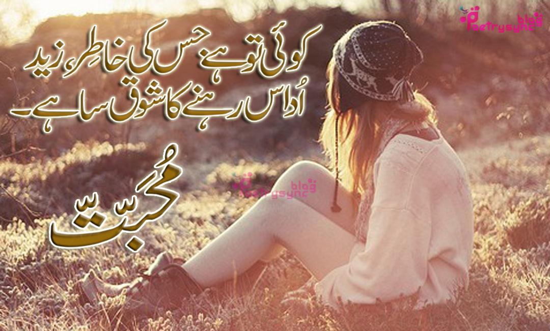 Muhabbat  Line Urdu Shayari Images Collection For Fb Posts