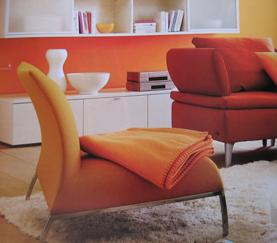 Decorating with orange like fruits and you will be happy with the ideas 5