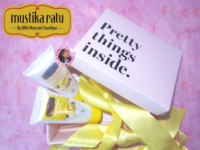 Review Mustika Ratu Face Peeling Gel & Peel Off Mask - Lemon