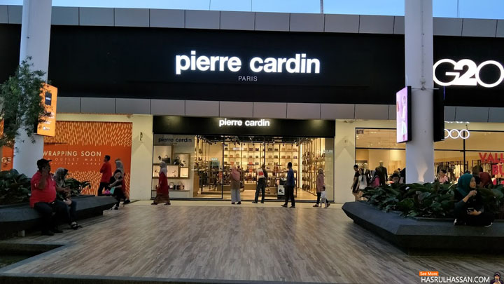Pierre Cardin Outlet Store in Penang