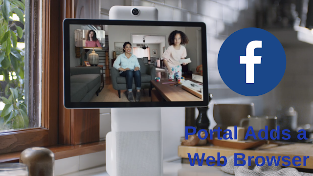 Facebook Portal Ads a Web Browser, Games, And New Channels