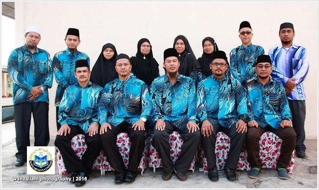 Group Photo Ahli Jawatankuasa Persatuan Guru-Guru KAFA Daerah Kuantan.
