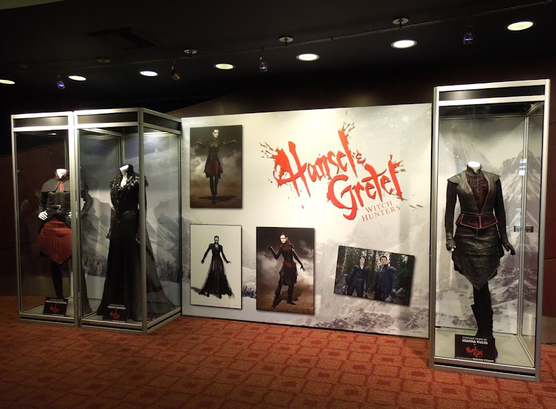 Hansel Gretel movie costume display