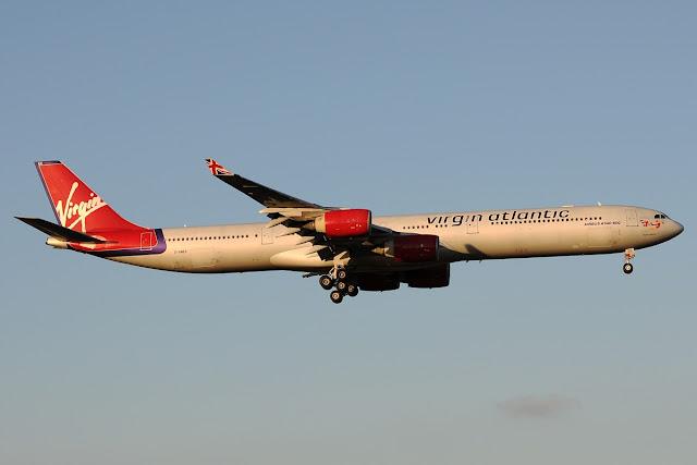 Virgin Atlantic Airbus A340-600 Long Fuselage
