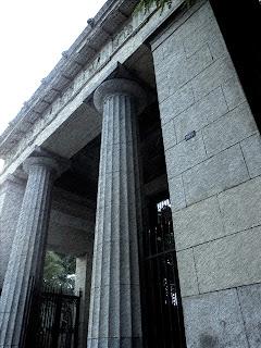 Entrada do Cemitério da Consolação