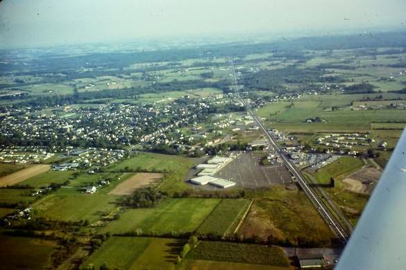 Quakertown Pa 1965 Aerial View Interesting Pennsylvania And Beyond