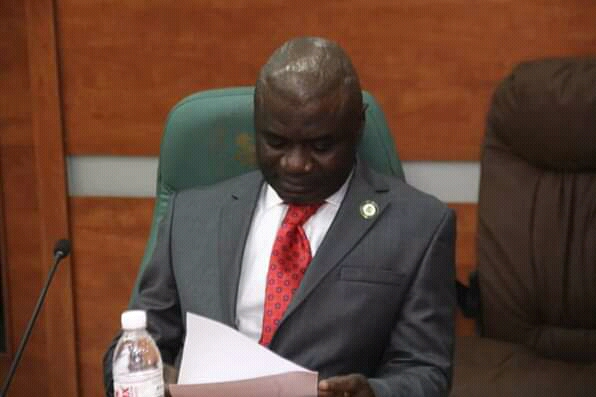 JUDICIARY REFORM: @GovernorIkpeazu Receives Report From Committee.