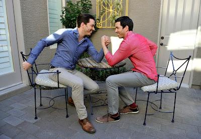 Gêmeos Scott escolhem, reformam e vendem duas casas durante os oito episódios da nova temporada - Divulgação