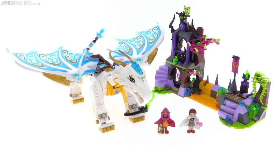 LEGO Elves Queen Dragon's Rescue review! 41179