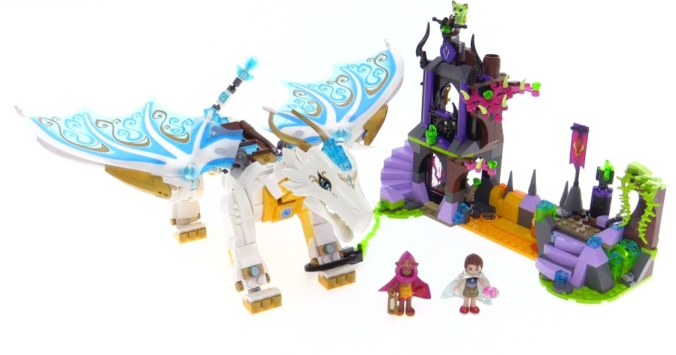 Lego Elves Queen Dragon S Rescue Review 41179