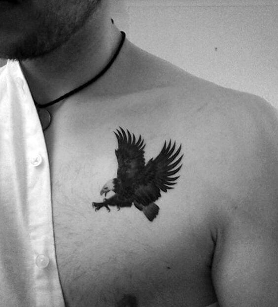 Mini tatuagens masculinas