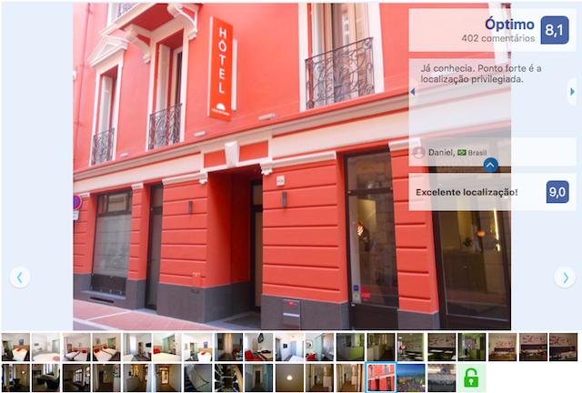 Hotel de France em Mônaco