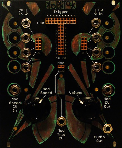 Matrixsynth Introducing The Folktek Quot Matter Quot Eurorack Module