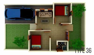 renovasi rumah type 36/60