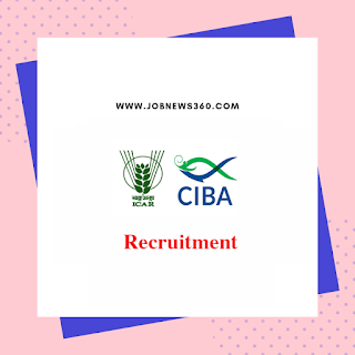 CIBA Chennai Recruitment 2019 for SRF post