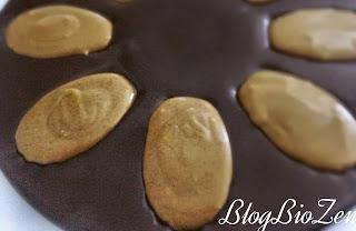madeleines sans gluten sans lactose thé vert matcha avant cuisson