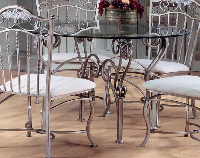 kitchen table and chairs glass top