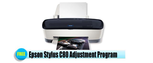 Epson Stylus C80 Adjustment Program
