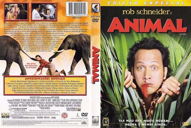 Capa DVD Animal