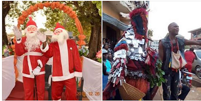 MAN REVEALS THE DIFFERENCE BETWEEN AFRICAN & OYIBO MASQUERADES – WHAT HE SAID WILL SHOCK YOU