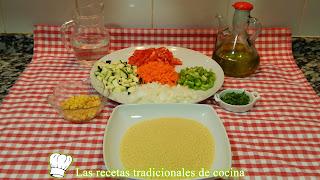 couscous con verduras