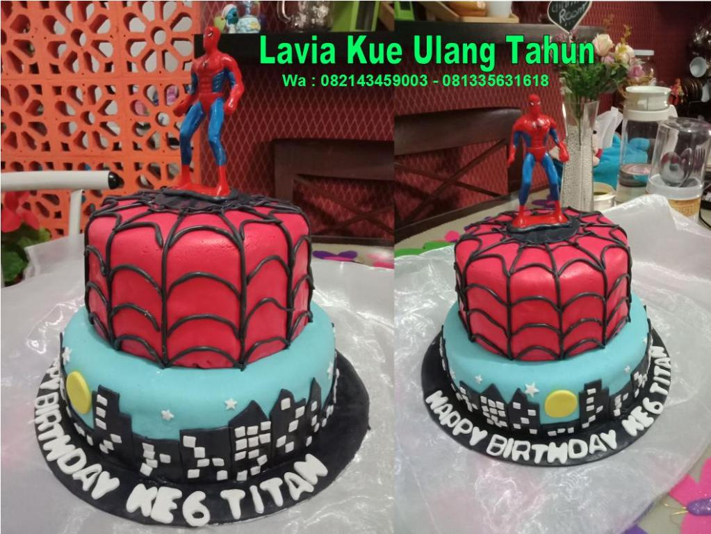 Kue Ulang Tahun Sidoarjo Surabaya Kue Tart Ulang Tahun Spiderman