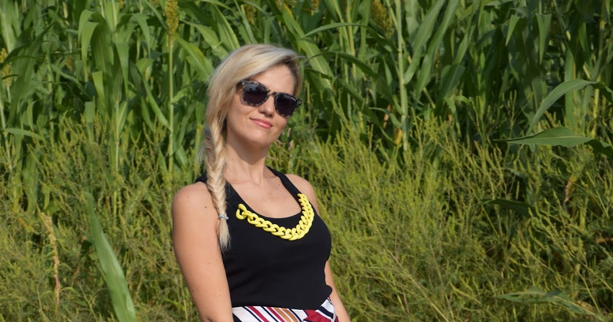 Outfit: high waisted shorts - come abbinare gli shorts a vita alta -