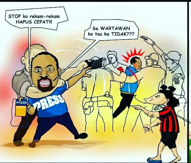 Hentikan Kekerasan di Tanah Papua : Hapus Impunitas, Adili Pelaku Kekerasan Terhadap Wartawan Jubi Abeth You dan Mando Mote