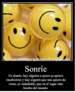 Frases Para La Vida: Sonríe En Donde Hay Alguien A Quien Se Quiere