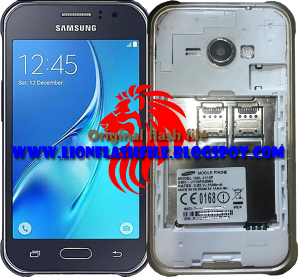 Android MTK Firmware File: Samsung SM-J110F MT6572 Tested